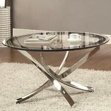 Coaster Home COFFEE TABLE CHROME- 702588 Table NEW