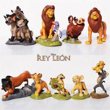The Lion King Simba Nala Pumbaa 9 PCS Action Figure Kids Toy Gift Cake Topper