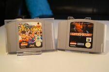 N64 Flying Dragon & Fighters Destiny - SET - Nintendo 64 - PAL / Module