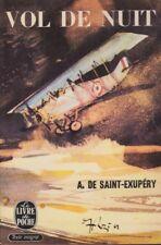 Vol de Nuit by A. de Saint-Exupery (Night Flight, French, 1963)