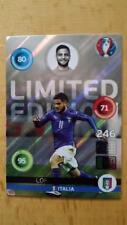 Panini Adrenalyn XL EM Euro 2016 Limited Edition Card Insigne Shiny