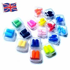 Soft Silicone And Foam Ear Plugs Different Colours Sleep Rest Noise Reduction