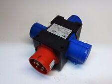 Kompaktverteiler 16A CEE Stecker 5p + 3x16A CEE Dosen Verteiler Stromverteiler