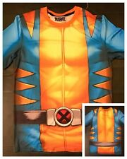Marvel Comics Cosplay (LARGE) Shirt: WOLVERINE! X-Men Classic Retro Team Costume