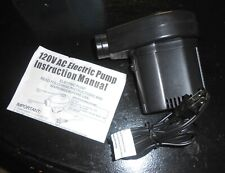 Ho Lee Co HB-124BN) Electric Inflator/ Deflator Air Pump ONLY