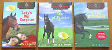 Lot 1-3 LUCKY FOOT STABLE JoAnn S Dawson Lady's Big Surprise Star of Wonder L1