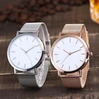 Moda Relojes de pulsera de cuarzo del reloj de banda de acero inoxidable Nuevo