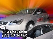 HEKO Windabweiser SEAT Leon ST III 5türig 2014--> 4-teilig - 28240