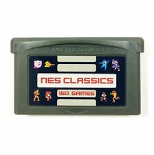 150-in-1 NES Classics Collection GBA Nintendo Gameboy Advance multicart series!!