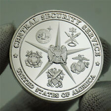 US Military Central Security Service NSA National Security Agency Challenge Coin