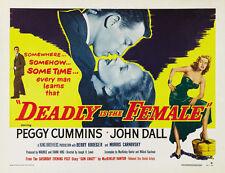 "Gun Crazy Movie Poster Replica 14 x 11"" Photo Print"