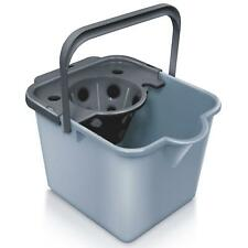 Addis Eco Range Mop Pail Bucket & Detachable Wringer 100% Recycled Plastic, Grey