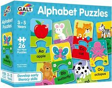 Galt Toys, Alphabet Puzzles, Alphabet Jigsaw Puzzle for Kids, Ages 3 Years Plus.