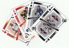 OPC O-Pee-Chee 2017-18 Complete Playing Cards Set (52) (2 to A) with all 4 ACES