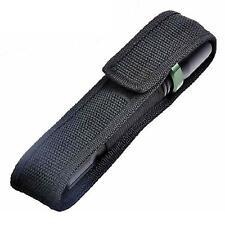 18cm Nylon Holster Holder Belt Pouch Case for  LED Torch Flashlight C8 Black LI
