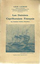 MARINE - VOILIERS / LES DERNIERS CAP-HORNIERS FRANCAIS - L. LACROIX -1948- MER
