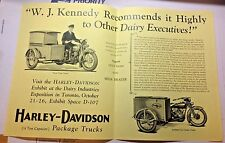 Harley,1903-1999,Good Humor Ice Cream,1929,JD,JDH,45,side,car,truck,commercial