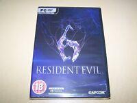 Resident Evil 6 PC DVD-ROM **New & Sealed**