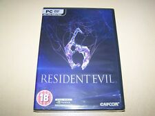 Resident Evil 6 PC DVD-ROM **New & Sealed**