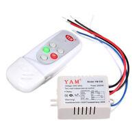 AC 220V Wireless Luce Lampada Digitale Interruttore con Telecomando YAM-028 V8T3
