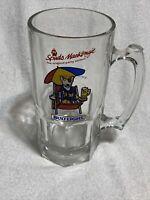 Vintage Spuds MacKenzie Party Animal Bud Light Glass Beer Mug 1987