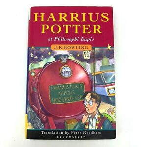 Harry Potter and the Philosopher's Stone J.K. Rowling   Latin Edition   HC