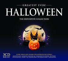 HALLOWEEN: GREATEST EVER 3 CD NEU MONSTER MASH/WITCH DOCTOR/THE SHINING/+