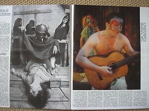 CARMELO BENE IL ROSA E IL NERO FERSEN VASILICO' PUGELLI STREHLER L'ESPRESSO 1973