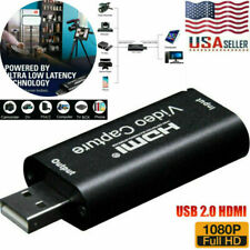 1080P HD HDMI to USB 2.0 Video Capture Card Recorder Game Video Live Streaming