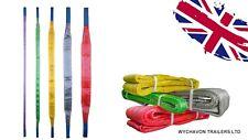 More details for webbing lifting sling certified cargo strap hoist strop 1t 2t 3t 4t 5 tones
