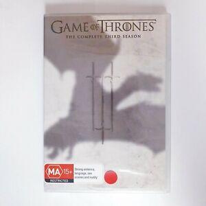Game of Thrones Season 3 DVD Region 4 AUS - Free Postage