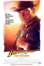 Indiana Jones and The Last Crusade Original Drew Struzan 27x41 Movie Poster - B