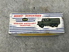 ORIGINAL Dinky Toys 689 MEDIUM  ARTILLERY TRACTOR / Lorry Original Box Only.