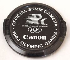 Canon 52mm Front Lens Cap - 1984 Olympic Games Official 35mm Camera
