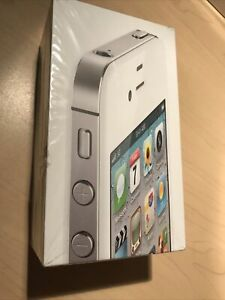 W1- Apple iPhone 4s - 16GB - White (Unlocked) A1387 (CDMA + GSM) New Open Box