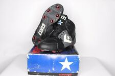 Vtg 90s New Converse Mens 10.5 Cons React Encroacher Mid Football Cleats Black