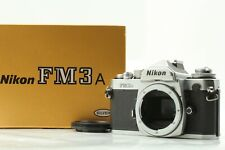 【EXCELLENT+5 in BOX】 Nikon FM3A SLR 35mm Film Camera Silver Body From JAPAN #426