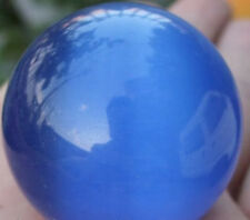 Free shipping! 40mm Blue Mexican Opal Sphere, Crystal Ball/Gemstone Free Stand