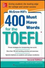 400 Must Have Words for the TOEFL by Lawrence Zwier and Lynn Stafford-Yilmaz (20