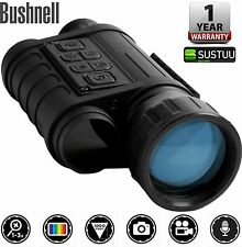 Bushnell Equinox Z Night Vision Monocular 6 x 50mm Video Sound Camera Features