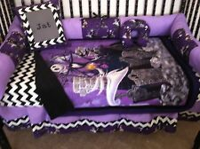 4 piece Nightmare Before Christmas  baby bedding - no bumpers   -free pillow