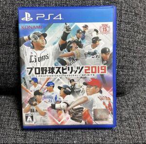 Pro Yakyuu Spirits 2019 PS4 Professional Baseball Spirits JAPAN