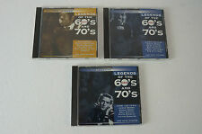 Legends of the 60´s & 70´s, 3 CD´s mit Stars wie Chuck Berry u. Ray Charles (59)