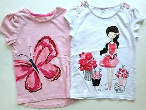 Gymboree Pretty Poppy 8-10 Tee Top T-shirt Set RC1-18