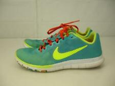 Womens sz 6.5 Nike Free 3.0 Advantage 579964-300 Green Teal Yellow Running Shoes