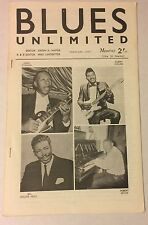 BLUES UNLIMITED 19 February 1965 magazine Albert Collins Arbee Stidham