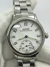 EBERHARD&CO WATCH 21020 MECANISME&TRADITION TRAVERSETOLO VITRE MENS 43mm SWISS