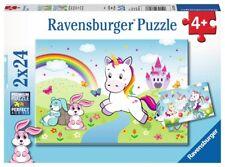 Ravensburger 78257 Puzzle Puzzles & Geduldspiele PJ Masks Abenteuer in der Nacht 2 x 24 Teile