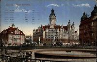 1915 Stempel Leipzig auf color Feldpostkarte 1. Weltkrieg Feldpost gelaufen