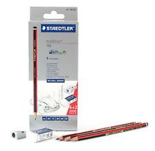 6 + 2 STAEDTLER TRADITION PENCILS PACK SKETCHING DRAWING ART SHARPENER ERASER